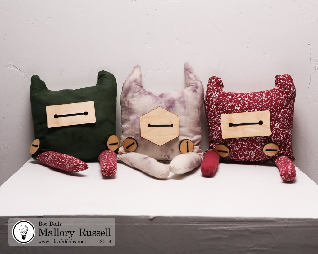 Bot Dolls by Mallory Russell