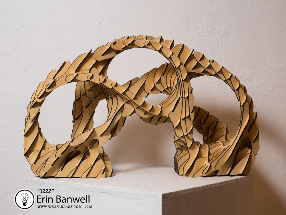3222 Bamboo Sculpture (Collaboration with Dave Seied)