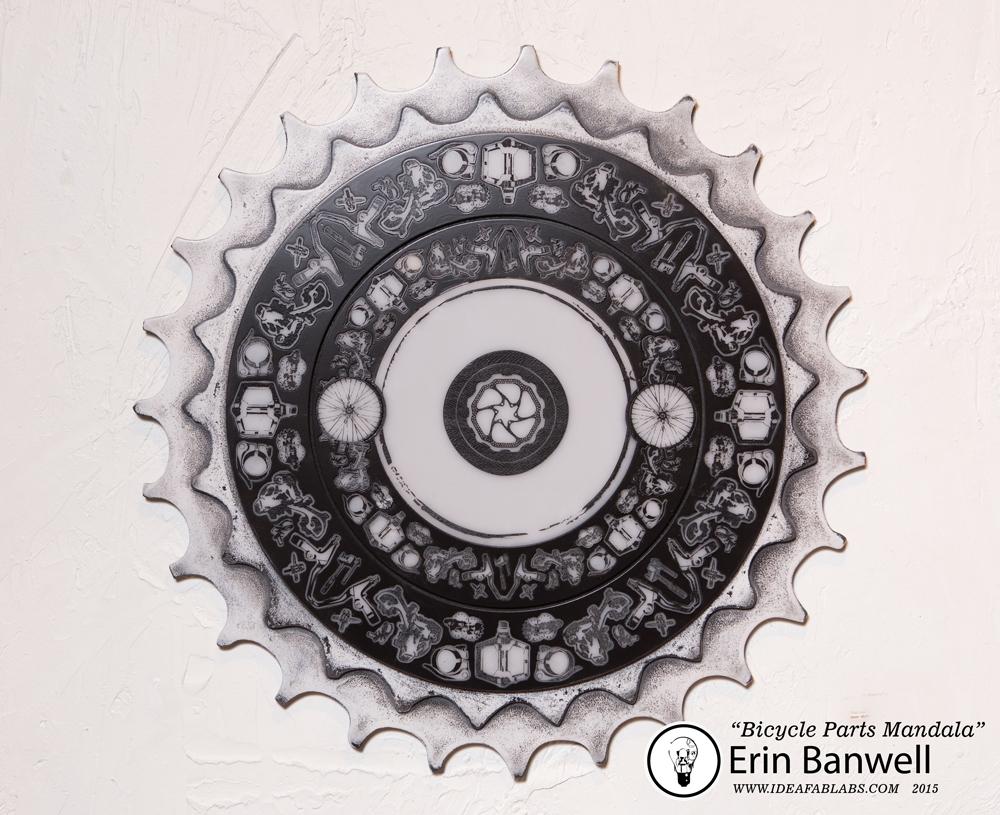 Bike Parts Mandala